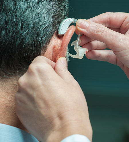 Hearing Aid Installation